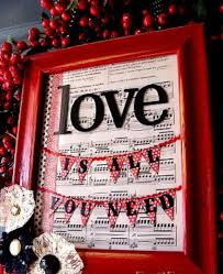 love decorations for the home unique valentine day decorations for home with words of love in