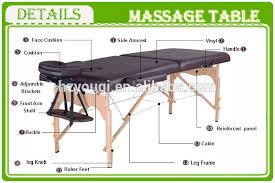 used face frame table for sale colorful luxury hotel home used portable folding wooden massage