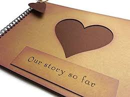 anniversary photo album our story so far anniversary memory book scrapbook photo album