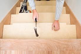 treppe belegen treppe neu belegen materialien preise mehr