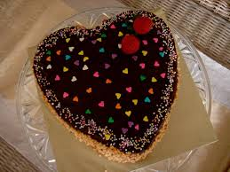 How To Decorate Heart Shaped Cake Heart Shape Chocolate Birthday Cake Decorating Of Party
