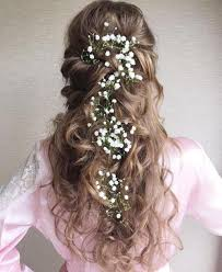 bridal hair 20 soft and sweet wedding hairstyles for curly hair 2017