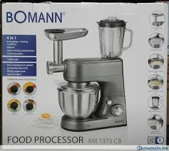 cuisine bomann bomann de cuisine petrin multi fonction a vendre 2ememain be