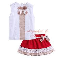 baby bow boutique pettigirl fashion style wholesale bow baby girl clothing set white