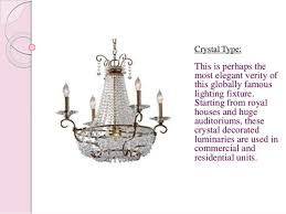 Chandelier Types Chandeliers Different Types Available In Market