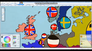 1914 Europe Map by 1914 Europe In Countryballs V2 Youtube