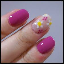 spring daisies u2013 nails at home