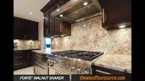 Dark Shaker Kitchen Cabinets Walnut Shaker Kitchen Cabinets From Thewoodfloorsource Com 508