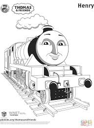 henry from thomas u0026 friends coloring page free printable