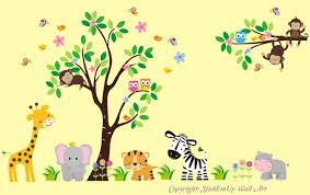 Nursery Wall Decals Animals by Nursery Wall Decals Baby Room Furniture Animal Wall Decals