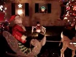 Movable Outdoor Christmas Decorations by Jeff And Julie U0027s Outdoor Animated Christmas Decorations 2 Youtube
