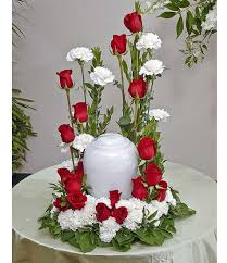 rose and carnation sympathy tributes delivered by phoenix flower