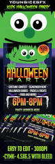 kids halloween party flyer template by youngicegfx graphicriver