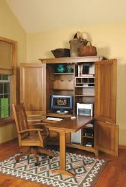 Computer Armoire Desk Cabinet Amazing Armoire Desk Decorating Ideas For Home Office Craftsman