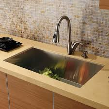 Vigo Stainless Steel Pull Out Kitchen Faucet Vigo Vg02017st Universal Stainless Steel Pullout Spray Kitchen