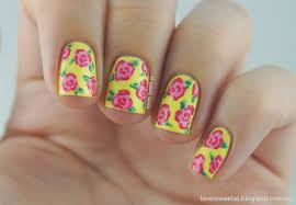 love u0027s sweet as nail art tutorial vintage roses