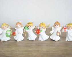 cherub figurine etsy