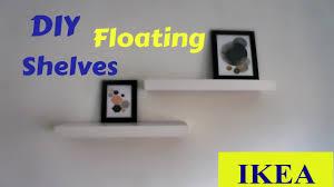 diy floating shelves youtube