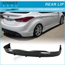 rear bumper hyundai elantra for 11 12 13 hyundai elantra avante md 4d oe style pp lower rear