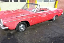 convertible dodge dart rust free 1963 dodge dart gt convertible