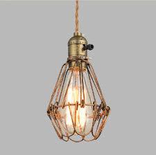 Wire Cage Light Industrial Pendant Lights U2013 Castelle U0026 Leon