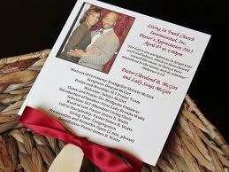 church fans personalized pastor appreciation photo fan program printed fully