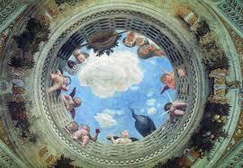 i require art andrea mantegna ceiling oculus camera degli sposi