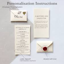 wedding gift letter day of wedding gifts for the lading for