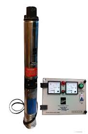 kirloskar submersible pump 1hp with control panel single phase