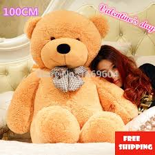 big teddy for s day big teddy stuffed toys the length 100cm size
