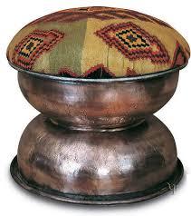 kilim and old copper ottoman yurdan com