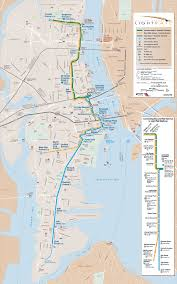 hudson bergen light rail map hudson bergen lightrail map port imperial ny usa mappery