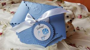 12 baby boy shower diaper invitation embossed cards new