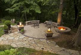 Firepit In Backyard Patio Ideas With Firepit Backyard Patio Ideas With Pit