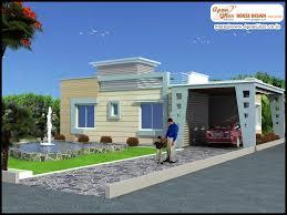 3 bedroom modern simplex 1 floor house design area 308m2 22m