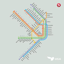 Stl Metro Map by Copenhagen Public Transport Map Cartographic Design Big Board