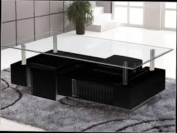 Table Salon Moderne by Table Basse Verre Rectangulaire Design Table En Verre