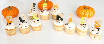 color blocked halloween cupcake picks guest post from a kailo