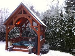 tub cover deck garden patio pinterest traditional