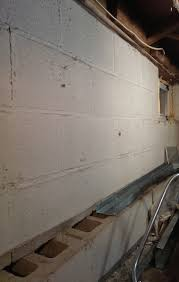 insulation open cinder block wall in basement home improvement