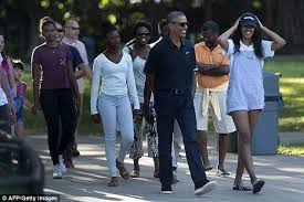 Vacation Obama Obama Family Vacations Hit 85m As They Prepare For Taxpayer