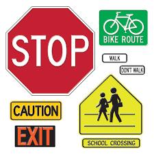 amazon com trend enterprises safety signs u0026 symbols bulletin