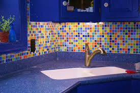 Glass Tile Backsplash Photos At Susan Jablon Mosaics - Colorful backsplash tiles