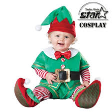Halloween Costumes Infant Boy Aliexpress Buy Arrival Jumpsuit Christmas Santa Snow