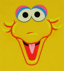 sesame street characters faces templates