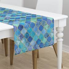 cobalt blue table l cobalt blue and aqua decorative moroccan on minorca by micklyn