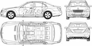 mercedes s class dimensions the blueprints com blueprints cars mercedes mercedes