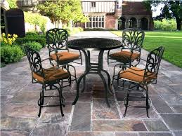 Patio Chairs Bar Height Bar Patio Set Bar Height Bistro Patio Set With Black Height Patio