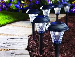 Solar Patio Lights Amazon by Amazon Com Moonrays 91381 Payton Solar Led Plastic Path Light 2x