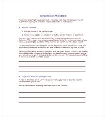 annual marketing plan template u2013 10 free sample example format